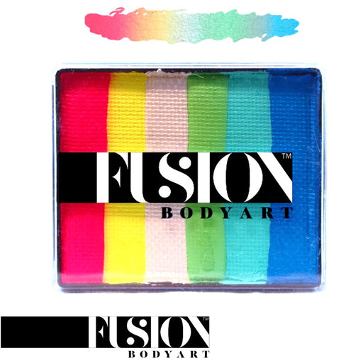 Fusion Body Art & FX - Rainbow Cake | Mermaid Tale 50gr by Jest Paint