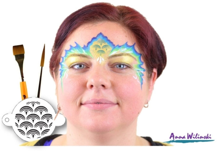 Global Body Art Face Paint | One Stroke - Miss Mermaid 25gr (Magnetized) - Jest Paint Store