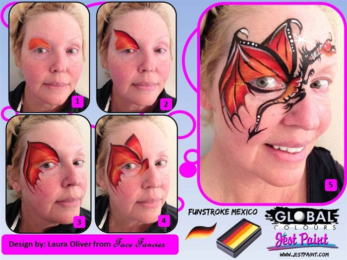 Global Body Art Face Paint - Fun Stroke Mexico - Jest Paint Store