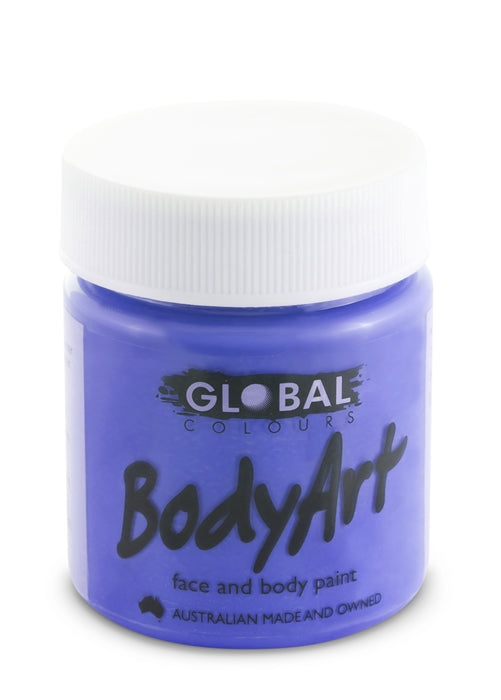 Global Body Art Face Paint - Liquid Purple 45ml - Jest Paint Store