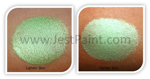 Global Body Art Face Paint - Pearl Lime Green 32gr - Jest Paint Store
