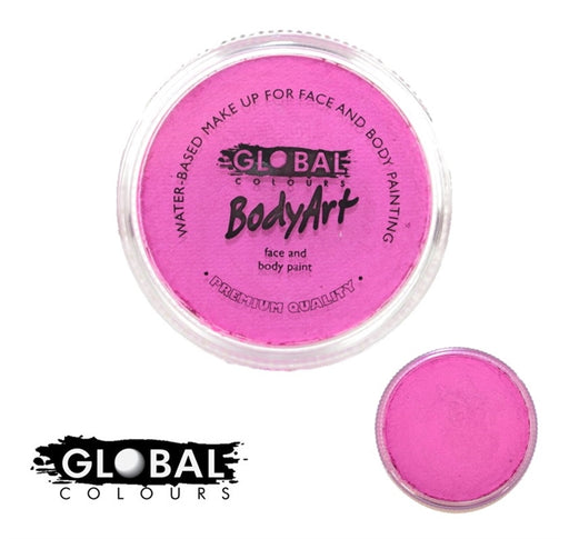 Global Body Art Face Paint - Pearl Magenta 32gr - Jest Paint Store
