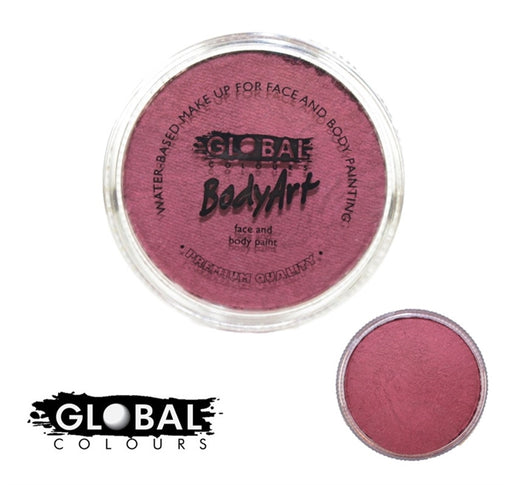 Global Body Art Face Paint - Pearl Merlot 32gr - Jest Paint Store