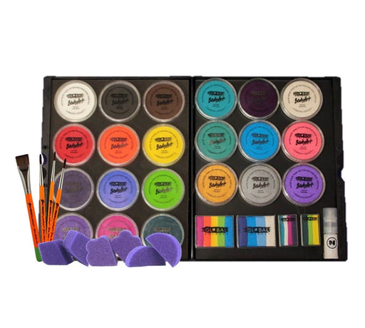 Global Colours Body Art - Face Paint Dream Kit - Jest Paint Store