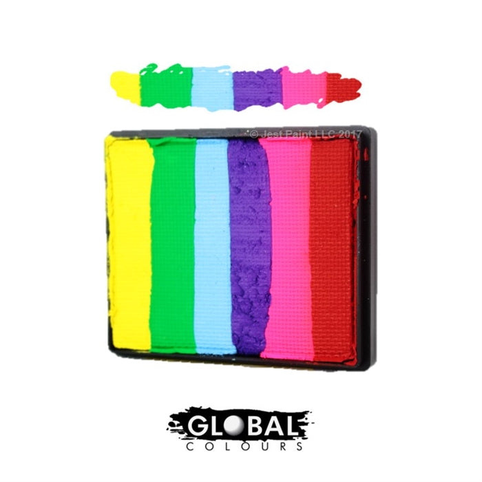 Global Colours Paint | Rainbow Cake - Positano 50gr - Jest Paint Store