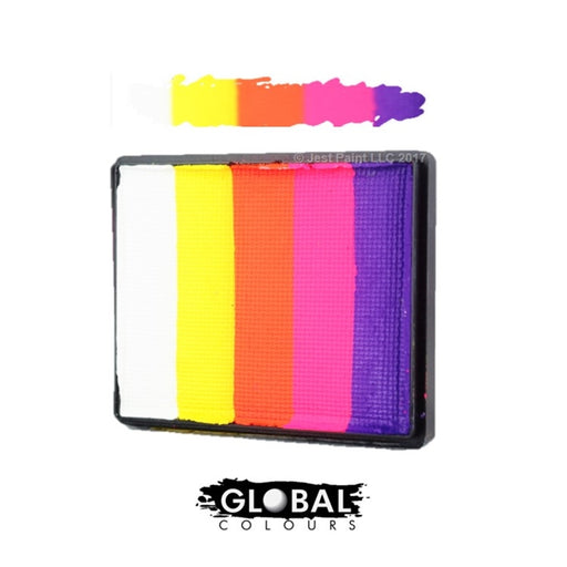Global Colours Paint - Rainbow Cake Caribbean 50gr - Jest Paint Store