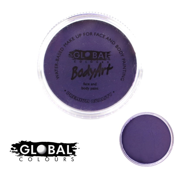 Global Body Art Face Paint - Standard Purple 32gr - Jest Paint Store