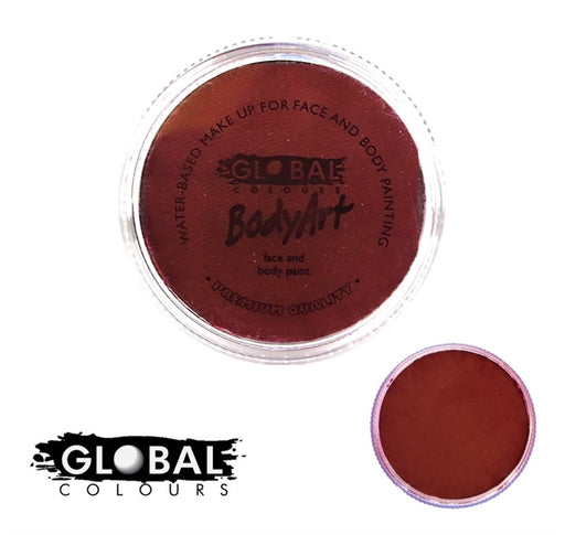 Global Body Art Face Paint - Standard Deep Merlot 32gr - Jest Paint Store