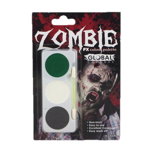 Global Body Art - Zombie FX Colour Palette - Jest Paint Store