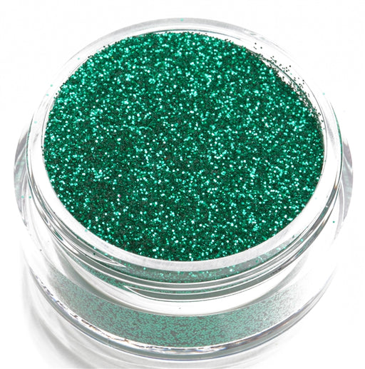 Glimmer Body Art Face Paint Glitter Jar - Green - 7.5gr - Jest Paint Store