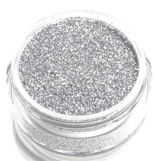Glimmer Body Art Face Paint Glitter Jar - Silver - 7.5gr - Jest Paint Store