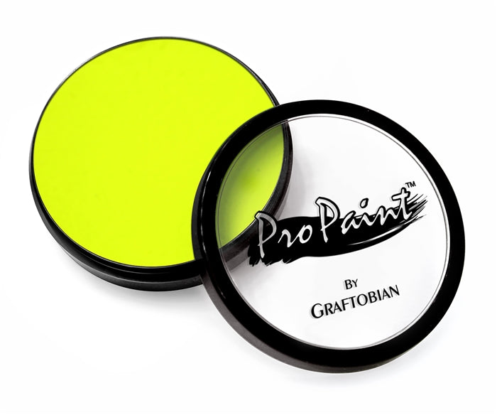 Graftobian Pro Paint - Neon Electric Yellow 28gr - Jest Paint Store