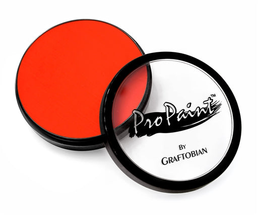Graftobian Pro Paint - Neon Atomic Orange 28gr - Jest Paint Store