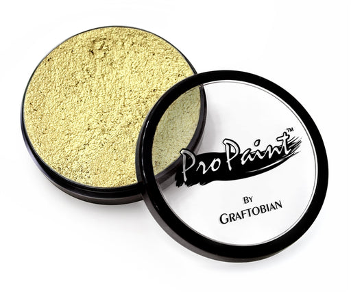 Graftobian Pro Face Paint - Metallic Gilded Gold 28gr - Jest Paint Store