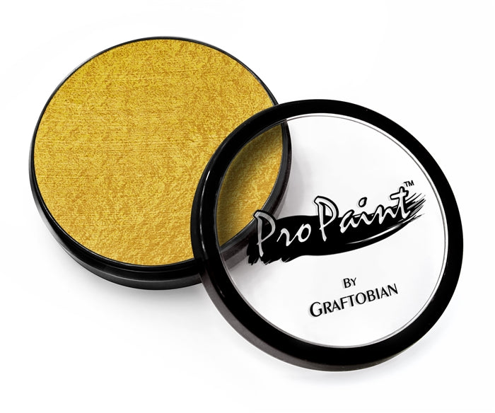 Graftobian Pro Face Paint - Pearl Dewdrop Gold 28gr - Jest Paint Store