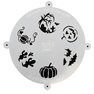 Galaxy TAP Face Painting Stencil - Halloween
