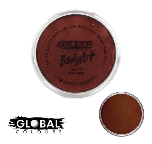 Original Global Body Art Face Paint - Standard Rose Brown 32gr