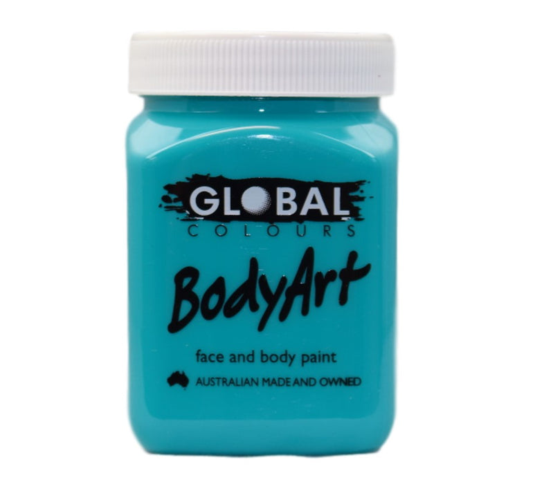 Global Body Art Face Paint - Liquid Turquoise 200ml