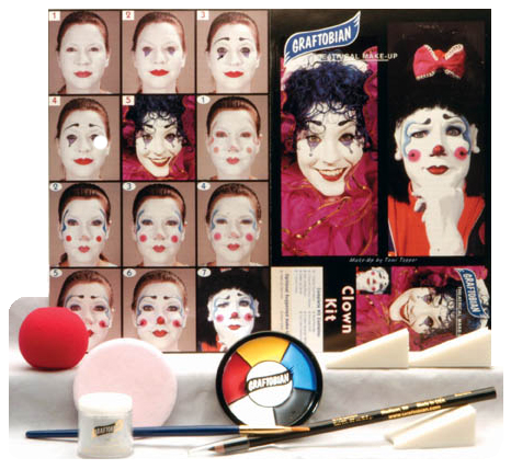 Graftobian Make Up Kit - Clown Kit