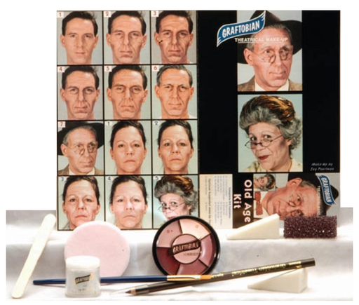 Graftobian Make Up Kit - Old Age Kit