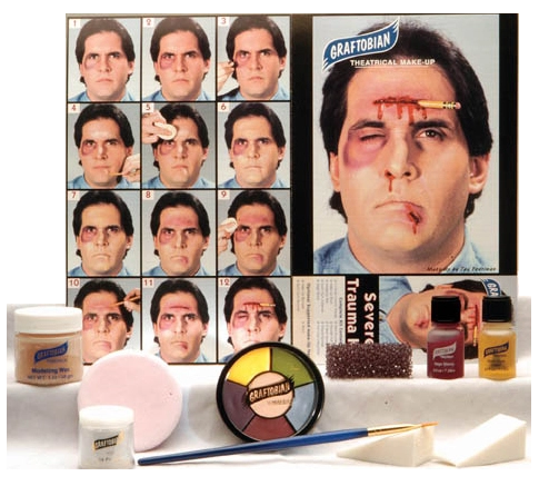 Graftobian Make Up Kit - Severe Trauma Kit