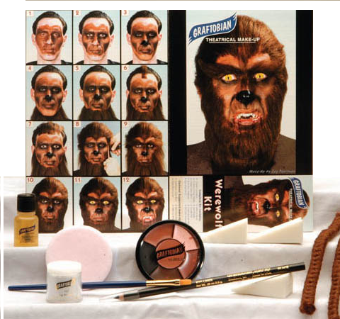 Graftobian Make Up Kit - Werewolf Kit