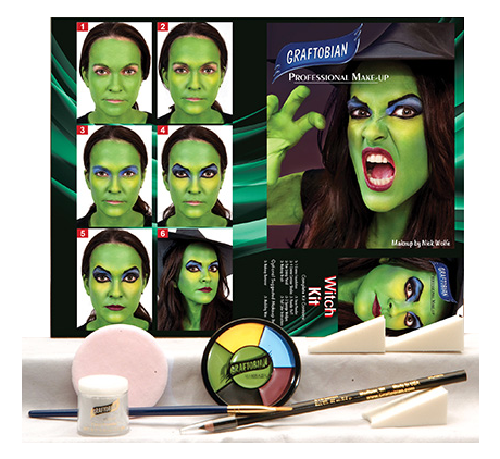 Graftobian Make Up Kit - Witch Kit