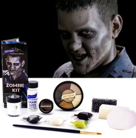 Graftobian Make Up Kit - Zombie Kit