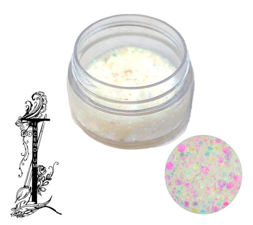 Incendium Arts | Essential Glitter Balm - ICICLE - 10gr