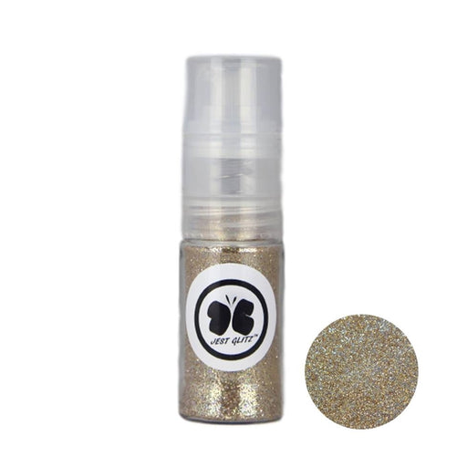 Jest Glitz Face Paint Glitter - Golden Beach in Fine Mist Pump - 7gr approx - Jest Paint Store
