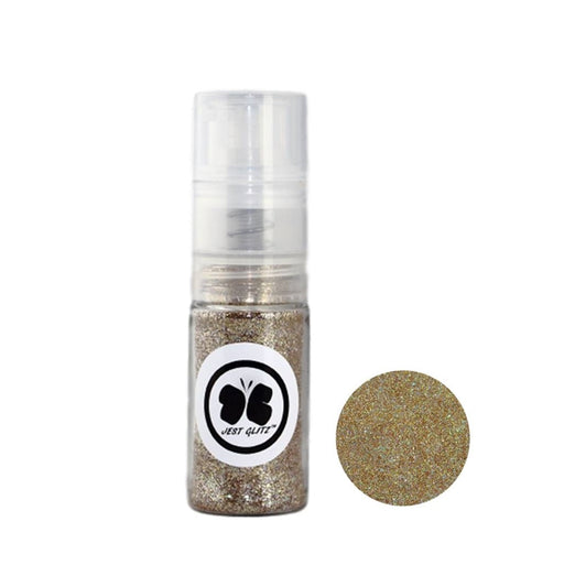 Jest Glitz Face Paint Glitter - Golden Tiara in Fine Mist PUMP - 7gr approx - Jest Paint Store