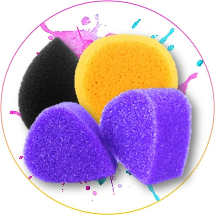 How to Face Paint - Step 3: How to use a Face Painting Sponge? - Jest Paint Store