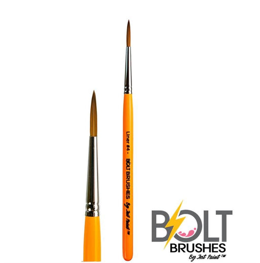 BOLT Face Painting Brush by Jest Paint - Liner #4 - Jest Paint Store