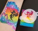 TAP 096 Face Painting Stencil - Dancing Little Fairy 1