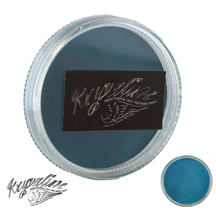Kryvaline Face Paint Essential (Creamy line) - Grass Green (dark teal) 30gr - Jest Paint Store