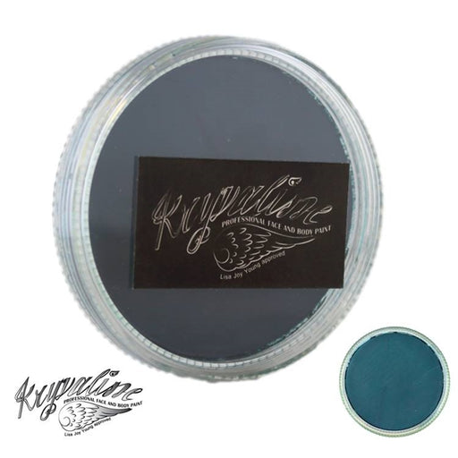 Kryvaline Face Paint Essential (Creamy line) - Discontinued - Green (Dark Green) 30gr - Jest Paint Store