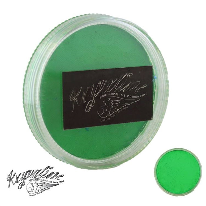 Kryvaline Face Paint Essential (Creamy line) - Bright Green 30gr - Jest Paint Store