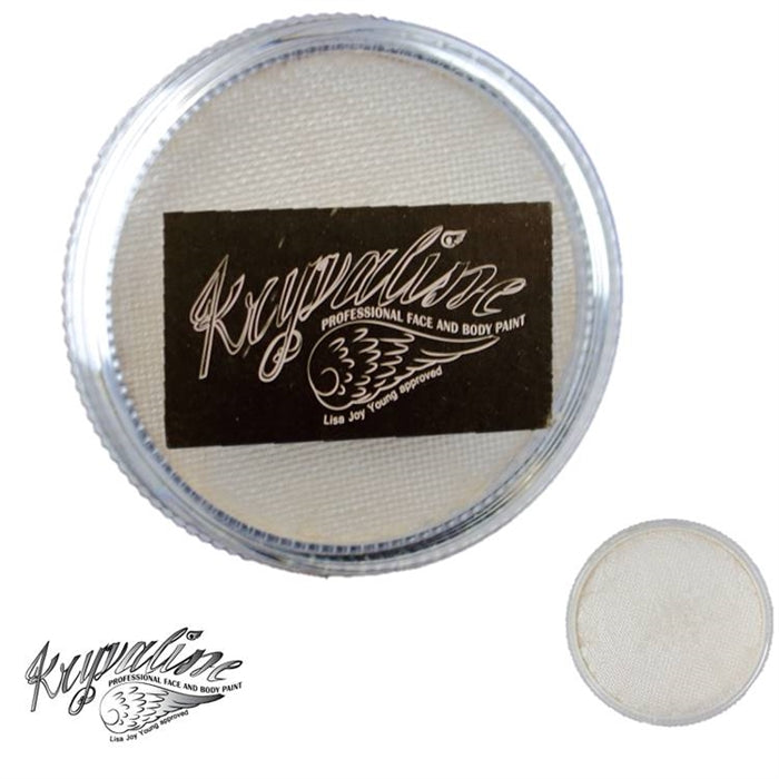 Kryvaline Face Paint (Creamy line) - Pearly White 30gr - Jest Paint Store
