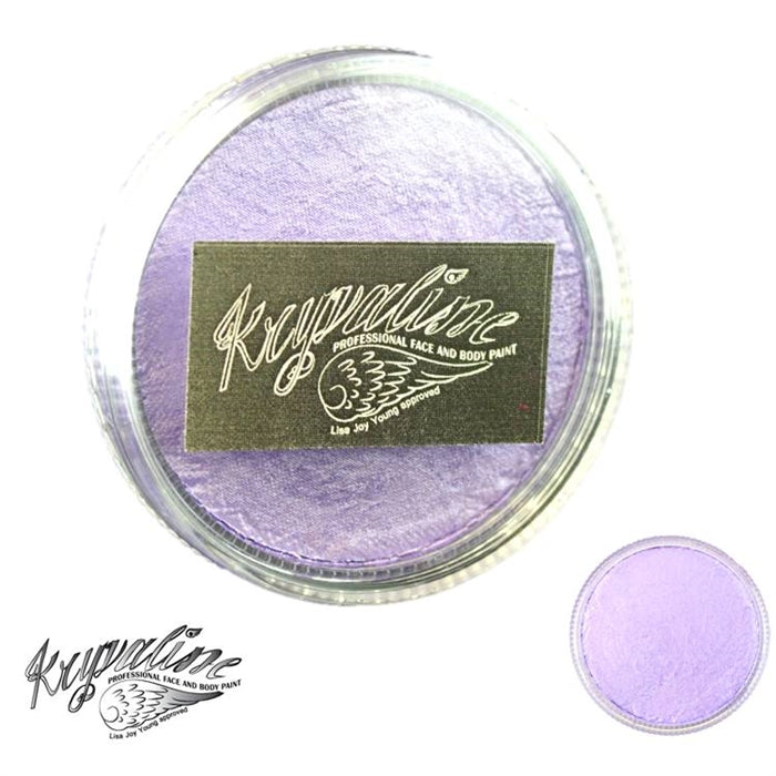 Kryvaline Face Paint (Creamy line) - Pearly Light Purple 30gr - Jest Paint Store