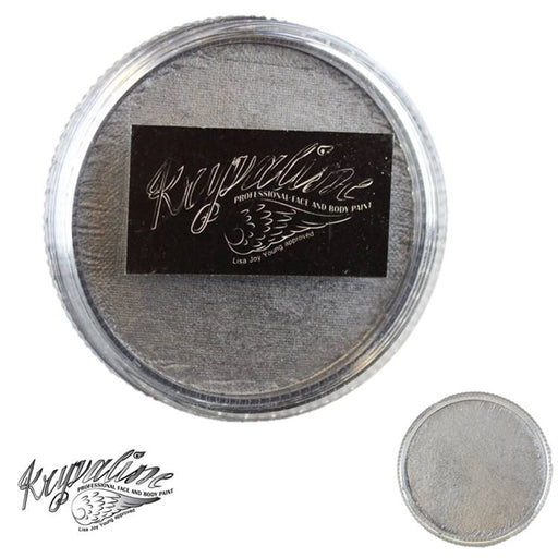 Kryvaline Face Paint (Creamy line) - Metallic Grey 30gr - Jest Paint Store