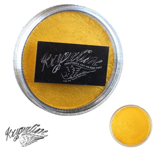 Kryvaline Face Paint (Creamy line) - Pearly Golden 30gr - Jest Paint Store