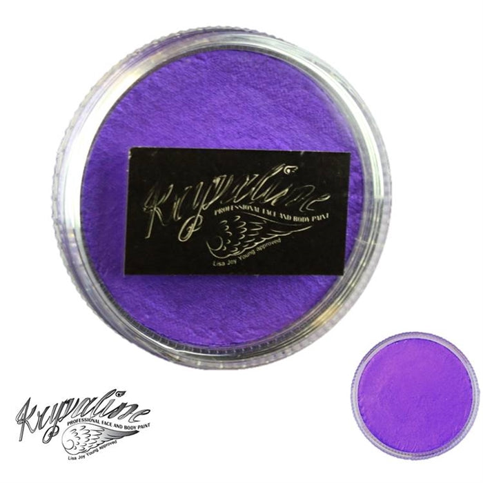 Kryvaline Face Paint (Creamy line) - Pearly Purple 30gr - Jest Paint Store