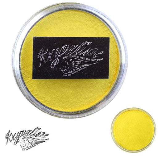 Kryvaline Face Paint (Creamy line) - Pearly Yellow 30gr - Jest Paint Store