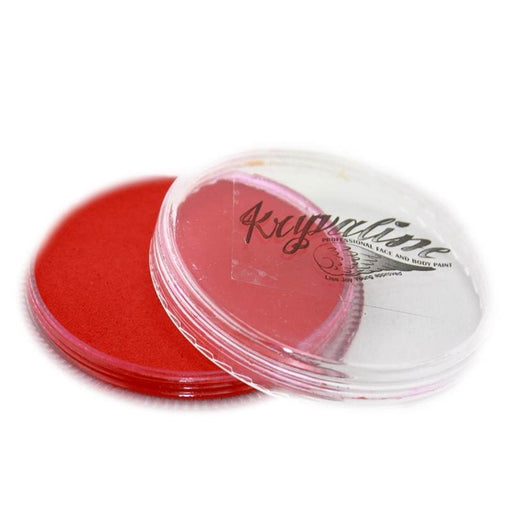 Kryvaline Face Paint Essential (Regular Line) - Red 30gr - Jest Paint Store