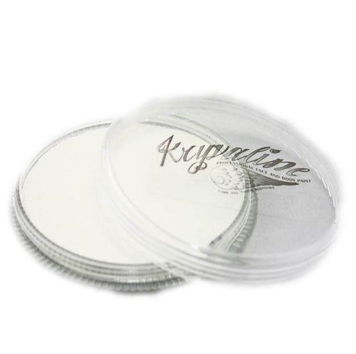 Kryvaline Face Paint Essential (Regular Line) - White 30gr - Jest Paint Store