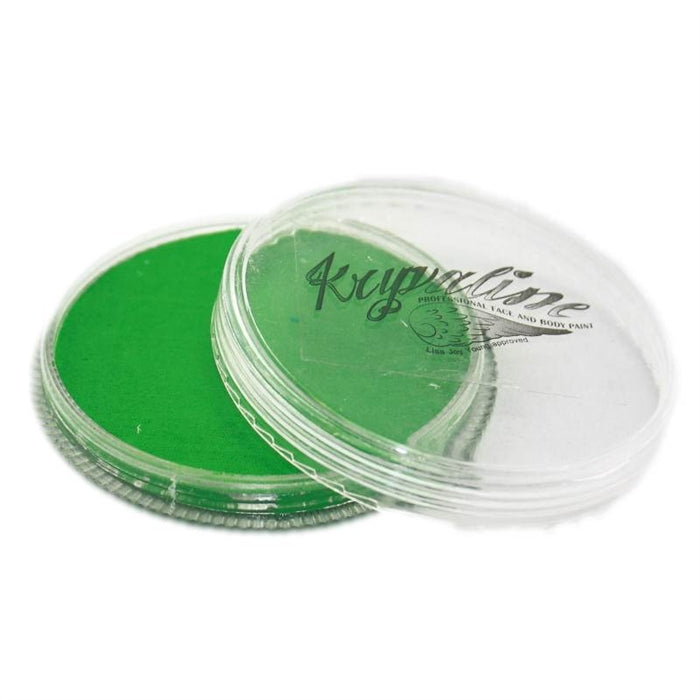 Kryvaline Face Paint Essential (Regular Line) - Green 30gr - Jest Paint Store