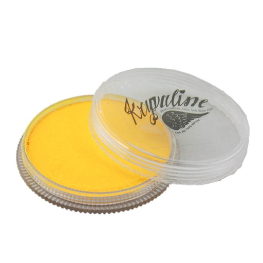 Kryvaline Face Paint Essential (Regular Line) - Yellow 30gr - Jest Paint Store