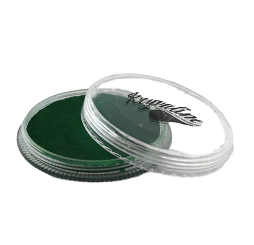 Kryvaline Face Paint Essential (Regular Line) - Dark Green 30gr - Jest Paint Store