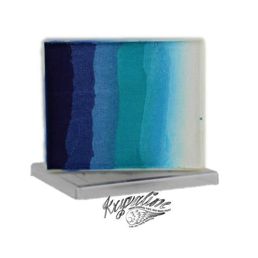 Kryvaline Face Paint Split Cake (Regular Line) - Icy 50gr - Jest Paint Store