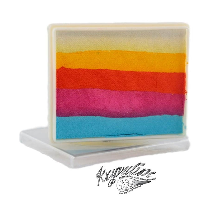 Kryvaline Face Paint Split Cake (Regular Line) - Horizon 50gr - Jest Paint Store